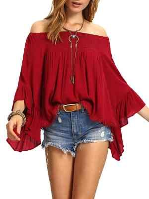 Bell sleeve tops