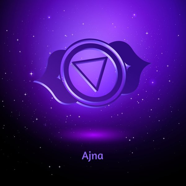 Reiki chakras. Ajna. When this chakra is unbalanced, we feel disconnected emotionally, and disconnected to the spiritual world.