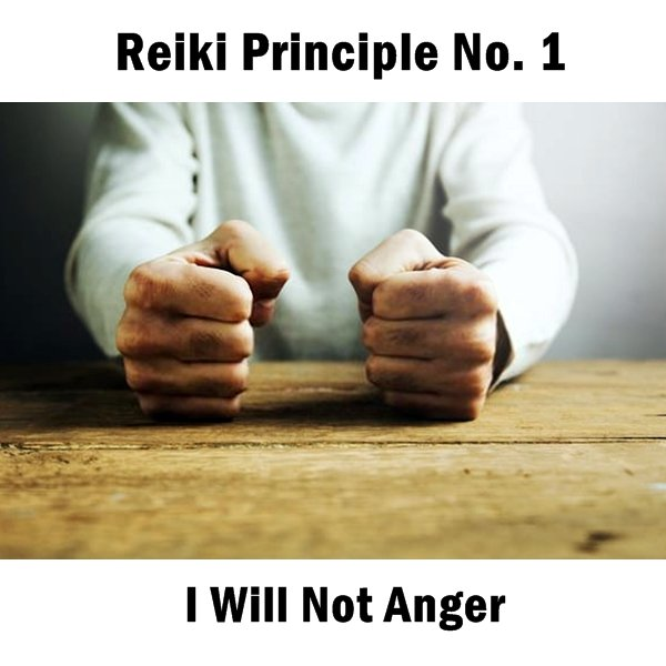 Reiki principles. Keep in mind, negative thoughts lead to lower levels of Ki.