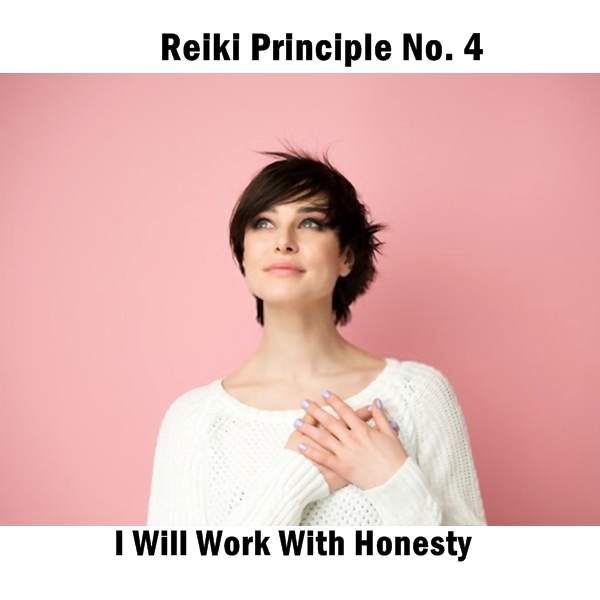 Reiki principles. Honesty. Whatever you do, do it to the best of your ability. The satisfaction (and the rush of Ki) you derive from a job well done is fantastic!