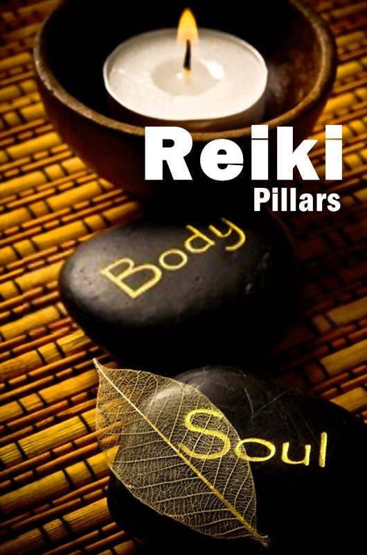 Reiki Pillars. These pillars concern themselves in keeping your body, mind and soul at optimal health.